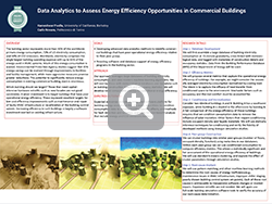 Data Analytics to Assess Energy Efficiency Opportunities in Commercial Buildings