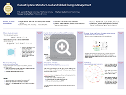 Robust Optimization for Local and Global Energy Management