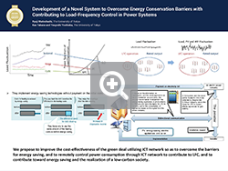 Development of a Novel System to Overcome Energy Conservation Barriers with Contributing to Load-Frequency Control in Power Systems