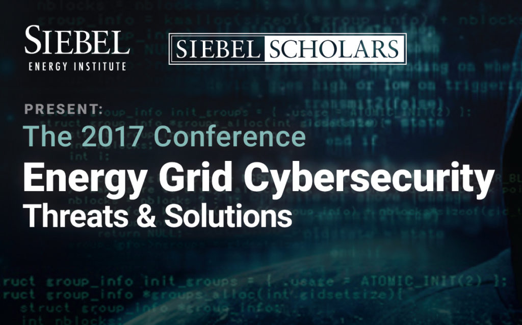 Leading experts in energy, cybersecurity, and government policy will examine threats to the power grid and devise solutions for increasing the resilience of energy networks and other critical infrastructure at the 11th Siebel Scholars conference.